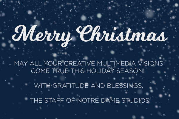 Merry Christmas from ND Studios!